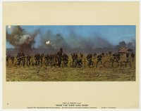 5x010 HOW THE WEST WAS WON Cinerama color English FOH LC #8 1964 soldiers on battlefield!