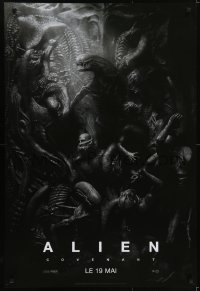 5y029 ALIEN COVENANT style C teaser DS Canadian 1sh 2017 Ridley Scott, incredible sci-fi image!