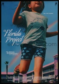 5y032 FLORIDA PROJECT Canadian 1sh 2017 Willem Dafoe, Brooklynn Prince, Jones, find your kingdom!