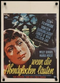 5y027 WENN DIE ABENDGLOCKEN LAUTEN Dutch 1951 Alfred Braun, art of the when the evening bells ring!