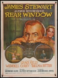 5y019 REAR WINDOW Indian R1970s Alfred Hitchcock, art of voyeur Jimmy Stewart & sexy Grace Kelly!