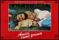 5y829 BEST FRIENDS group of 8 Italian 18x26 pbustas 1983 great images of Goldie Hawn & Burt Reynolds!