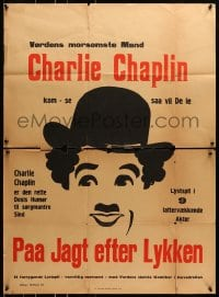 6k133 FIREMAN Danish 1919 Purviance, great completely different art of Charlie Charles Chaplin!