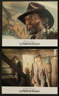 6k128 HEAVEN'S GATE 16 French LCs 1981 artwork of Kris Kristofferson & Isabelle Huppert, Cimino