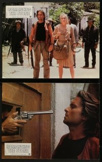 6k129 ROMANCING THE STONE 16 French LCs 1984 Robert Zemeckis, Michael Douglas & Kathleen Turner!