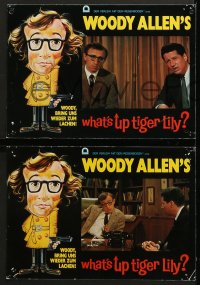 6k072 WHAT'S UP TIGER LILY 12 German LCs 1981 Woody Allen Japanese spy spoof with dubbed dialog!