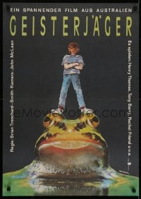 6p312 FROG DREAMING East German 23x32 1988 ET's Henry Thomas investigates a legend in Australia!