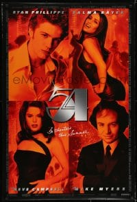 6r006 54 advance DS 1sh 1998 Ryan Phillipe, Salma Hayek, Neve Campbell, Mike Myers as Rubell!