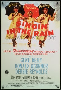 6r808 SINGIN' IN THE RAIN DS 1sh R2000 Gene Kelly, Donald O'Connor, Debbie Reynolds, classic!