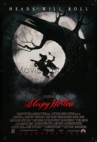 6r814 SLEEPY HOLLOW advance 1sh 1999 Thanksgiving style, cool image of headless horseman!