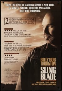 6r816 SLING BLADE 1sh 1996 star & director Billy Bob Thornton, many reviews!