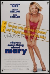 6r904 THERE'S SOMETHING ABOUT MARY style A DS 1sh 1998 sexy Cameron Diaz, Farrelly Brothers!