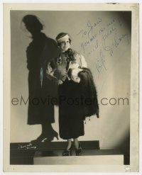 6s281 FIFI D'ORSAY signed deluxe 8x10 still 1920s great portrait modeling a new outfit by Schupaek!