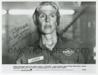 6s283 FRANCES STERNHAGEN signed 7.25x9.5 still 1981 close up as Dr. Marian Lazarus in Outland!