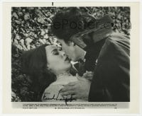 6s284 FRANK LANGELLA signed 8.25x9.75 still 1979 as Dracula with his sexy victim Kate Nelligan!