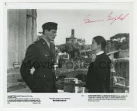 6s290 GENEVIEVE BUJOLD signed 8x9.75 still 1982 close up with Christopher Reeve in Monsignor!