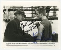 6s300 GLADIATOR signed 8x10 still 1992 by BOTH James Marshall AND Robert Loggia!