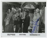 6s301 GLENDA JACKSON signed 8x10 still 1974 close up as a nun in The Devil is a Woman!