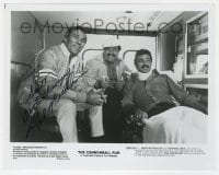 6s307 HAL NEEDHAM signed 8x10 still 1981 directing Burt Reynolds & Dom DeLuise in Cannonball Run!