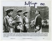 6s308 HARDY KRUGER signed deluxe 8x10 still 1975 great close up from Stanley Kubrick's Barry Lyndon!