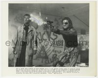 6s310 HARRY DEAN STANTON signed 8x10 still 1981 with Kurt Russell in Escape From New York!