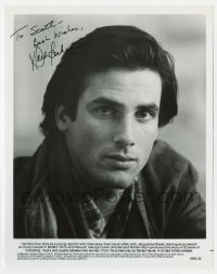 6s312 HART BOCHNER signed 8x10 still 1981 head & shoulders portrait from Rich and Famous!