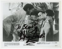6s316 HENRY THOMAS signed 8x10 still 1982 close up with Peter Coyote in E.T. the Extra-Terrestrial!