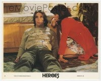 6s317 HENRY WINKLER signed 8x10 mini LC #3 1977 close up on floor with Sally Field from Heroes!