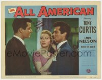 6s037 ALL AMERICAN signed LC #7 1953 by Jimmy Hunt, who isn't shown Tony Curtis & Lori Nelson!