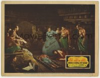 6s038 ANNA & THE KING OF SIAM signed LC 1946 by Irene Dunne, who stops man whipping Darnell's lover!
