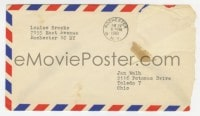 6s004 LOUISE BROOKS letter 1961 typed with hand notations to film critic Jan Wahl, great content!