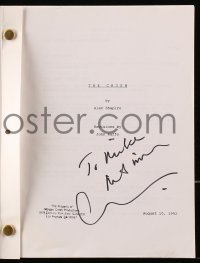 6s002 CARY ELWES signed revised draft script 1993 The Crush screenplay by Shapiro & Raffo!