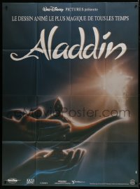 6t749 ALADDIN French 1p 1993 classic Walt Disney Arabian fantasy cartoon, great image!