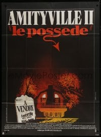 6t750 AMITYVILLE II French 1p 1982 The Possession, haunted house, directed by Damiano Damiani!