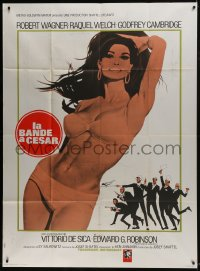 6t762 BIGGEST BUNDLE OF THEM ALL French 1p 1968 full-length artwork of sexy Raquel Welch in bikini!