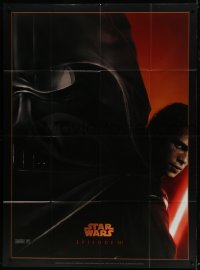 6t937 REVENGE OF THE SITH teaser French 1p 2005 Star Wars Episode III, cool montage art by Drew Struzan!
