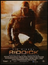 6t938 RIDDICK French 1p 2013 completely different image of Vin Diesel, sci-fi!