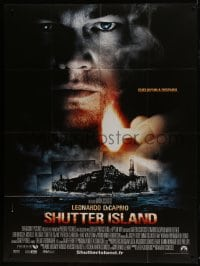 6t951 SHUTTER ISLAND French 1p 2010 Scorsese, Leonardo DiCaprio, some places never let you go!