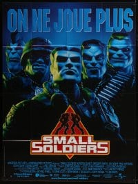 6t954 SMALL SOLDIERS French 1p 1998 computer animated CGI cartoon directed by Joe Dante!