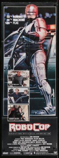 6t740 ROBOCOP French door panel 1988 Paul Verhoeven, full-length cyborg policeman Peter Weller!