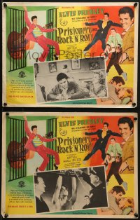 6t113 JAILHOUSE ROCK 2 Mexican LCs 1957 different images of rock & roll king Elvis Presley!