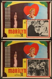 6t115 MARILYN 2 Mexican LCs 1963 sexy Monroe in the famous Heat Wave dance number & more!