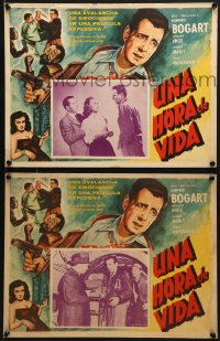 6t091 TOKYO JOE 8 Mexican LCs R1960s Humphrey Bogart & sexy Florence Marly in Japan!