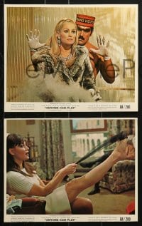 7d052 ANYONE CAN PLAY 8 color 8x10 stills 1968 Ursula Andress, Mario Adorf, Jean Pierre Cassel!