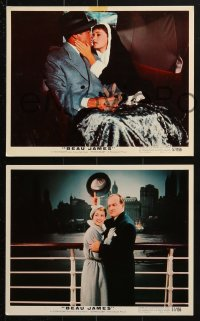 7d032 BEAU JAMES 9 color 8x10 stills 1957 Bob Hope as New York City Mayor Jimmy Walker!