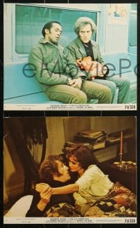 7d062 BORN TO WIN 8 8x10 mini LCs 1971 George Segal & George Fletcher w/ McGregor & Kurtz!