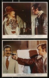 7d066 BURGLARS 8 color 8x10 stills 1972 jewel thieves Omar Sharif, Jean-Paul Belmondo & Dyan Cannon