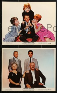 7d073 COME BLOW YOUR HORN 8 color 8x10 stills 1963 Frank Sinatra, Jill St. John, Barbara Rush!