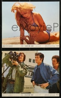 7d075 COVER ME BABE 8 color 8x10 stills 1970 great images of sexy Sondra Locke & Robert Forster!