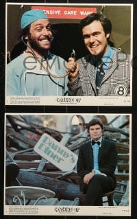 7d076 CRACKING UP 8 8x10 mini LCs 1977 Fred Willard, Harry Shearer, Michael McKean